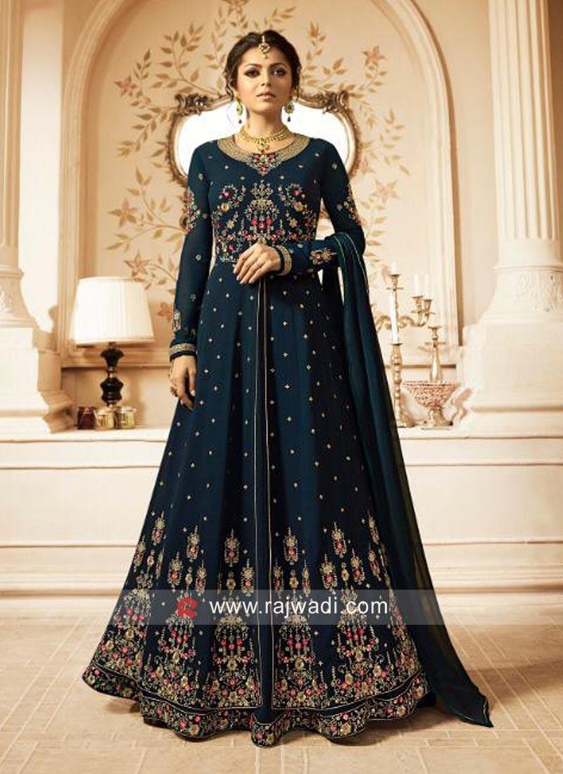 Drashti Dhami Double Layered Salwar Suit