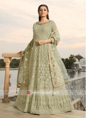 Drashti Dhami Eid Special Anarkali Salwar Kameez