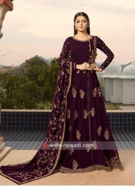 Drashti Dhami Front Slit Eid Pant Style Suit