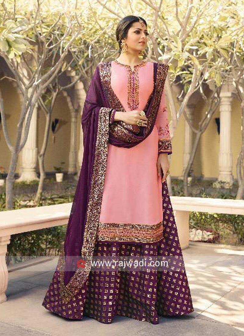 Drashti Dhami in Pink Lehenga Suit