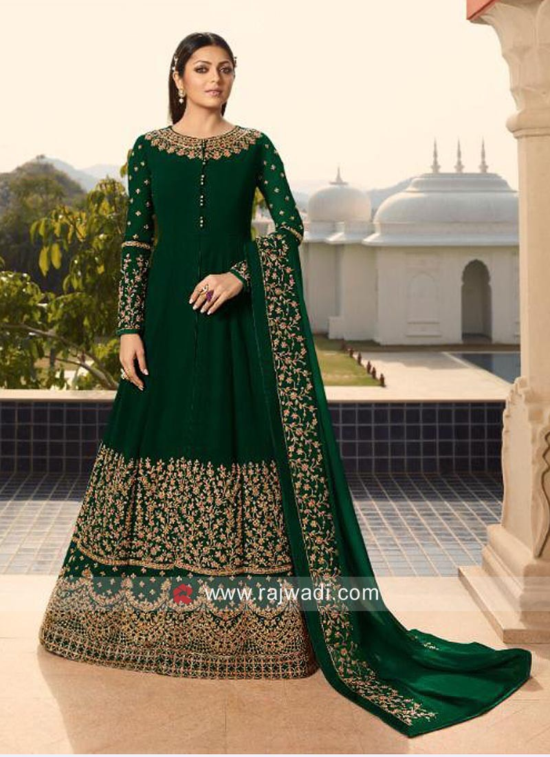 Drashti Dhami Multi Slit Pant Style Suit for Eid
