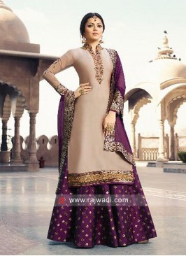 Drashti Dhami Wedding Lehenga Suit with Dupatta