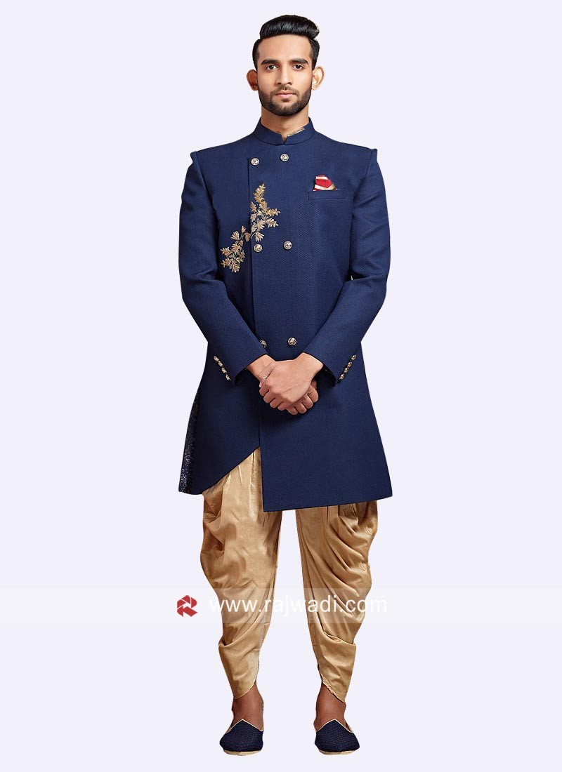 Jute Silk Indo Western For Wedding