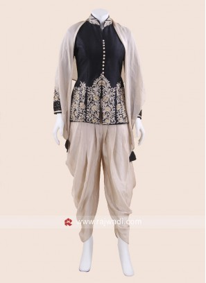 Eid Special Dhoti Suit with Scarf