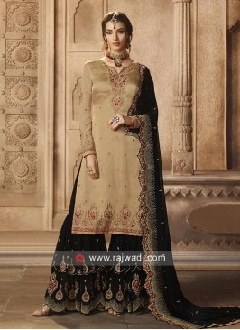 Cgarming Gharara Suit with Dupatta