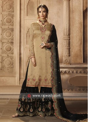 Eid Special Gharara Suit with Dupatta