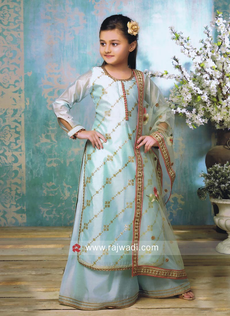 Stylish Kids Palazzo Suit
