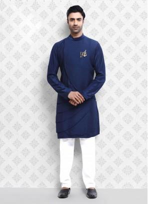 Elegant Blue Kurta Pajama