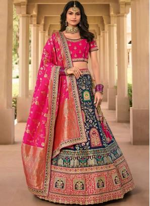 Elegant Bollywood Lehenga Choli For Wedding