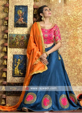 Elegant traditional work garba chaniya choli