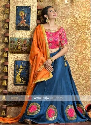 Elegant traditional work garba chaniya choli