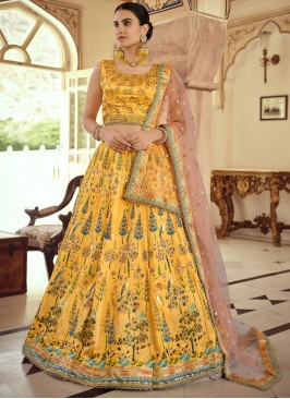 Elite Swarovski Silk Lehenga Choli