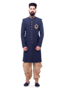 Emboss Fabric Indo Western