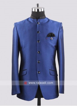 Emboss Fabric Jodhpuri Suit For Party