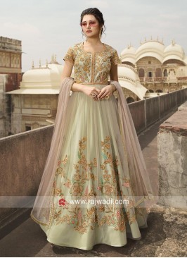 Embroidered Eid Anarkali Salwar Kameez