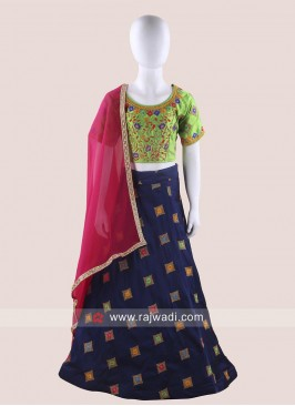Embroidered Girls Chaniya Choli