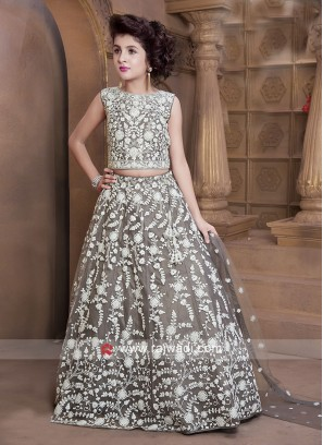 Embroidered Lehenga Choli for Girls