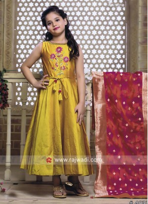 Embroidered Salwar Kameez for Kids