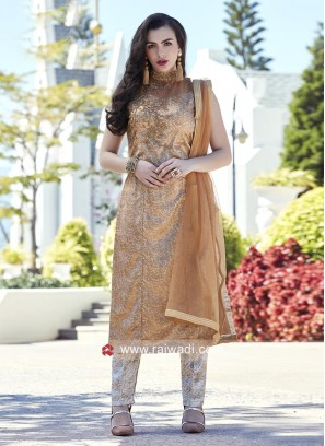 Embroidered Trouser Salwar Kameez