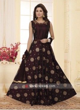 Embroidered Wedding Anarkali Suit