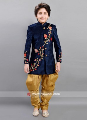 Embroidered Wedding Indo Western for Boys