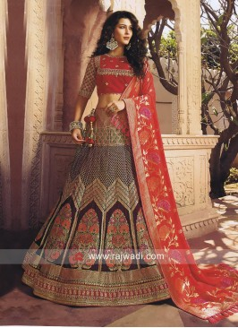 Embroidered Wedding Lehenga Choli
