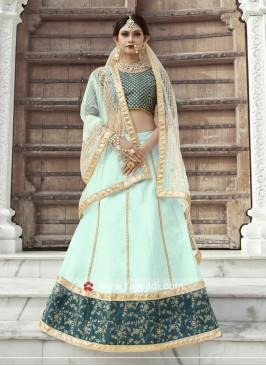 Embroidered Wedding Lehenga Set