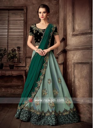 Embroidered Wedding Lehenga Set
