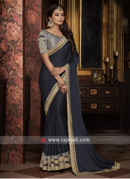 Embroidered Wedding Saree