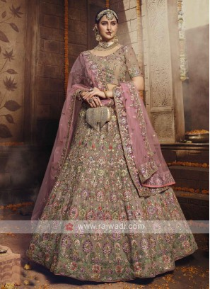 Embroidery Georgette Lehenga Choli
