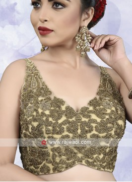 Embroidery Net Ready Choli