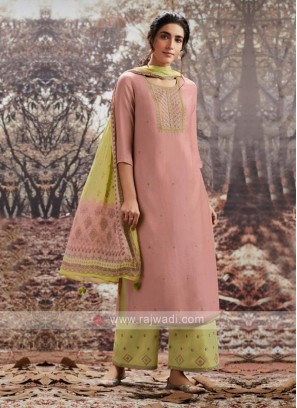 Embroidery Pashmina Dress Material