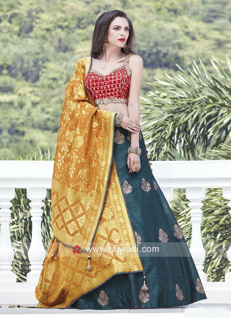 26df00ff5e Embroidery Readymade Lehenga Choli. Hover to zoom