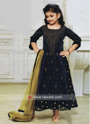 Embroidery Salwar Kameez for Girls