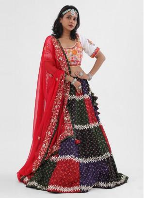 Embroidery Work Chaniya Choli