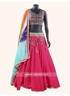 Embroidery Work Chaniya Choli