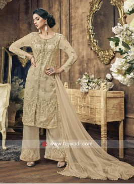 Embroidery Work Palazzo Salwar Suit