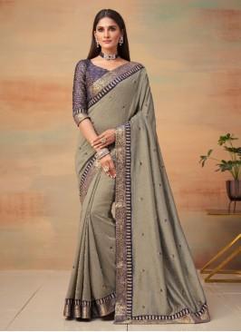 Epitome Vichitra Silk Traditional Saree
