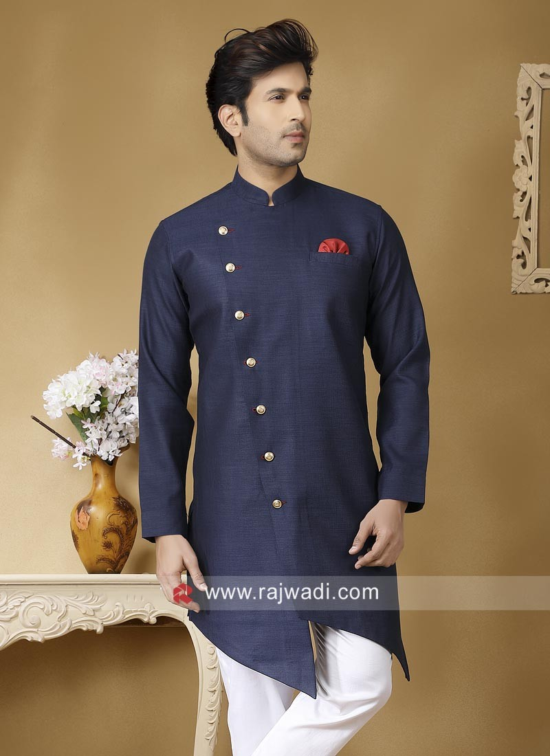 Ethnic Blue Color Kurta