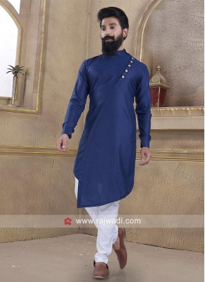 Ethnic Blue Pathani Suit
