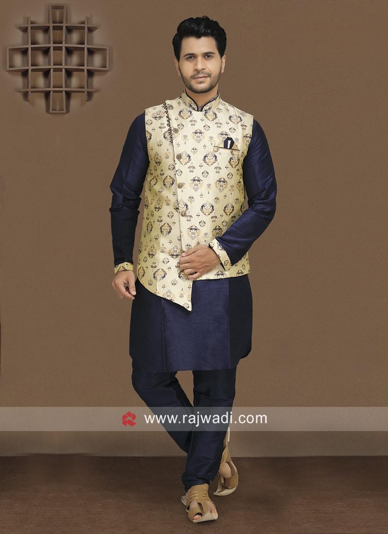 Ethnic Nehru Jacket For Men