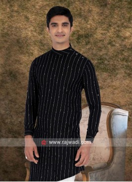 Ethnic Black Color Kurta