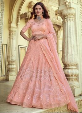 Exceptional Pink Lehenga Choli