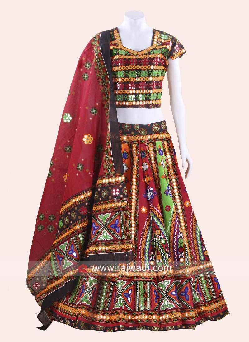 Cotton Chaniya Choli With Dupatta