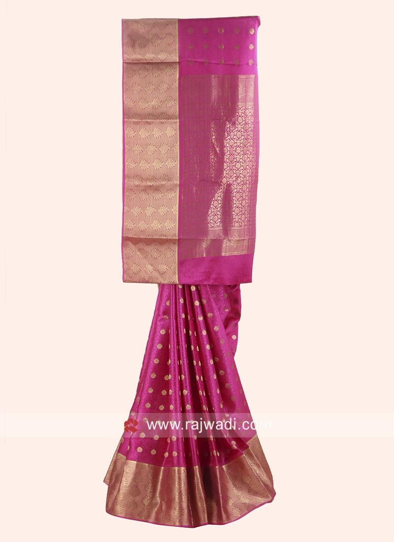 Exclusive Wedding Woven Saree