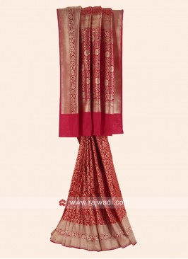 Exclusive Banarasi Silk Reception Saree