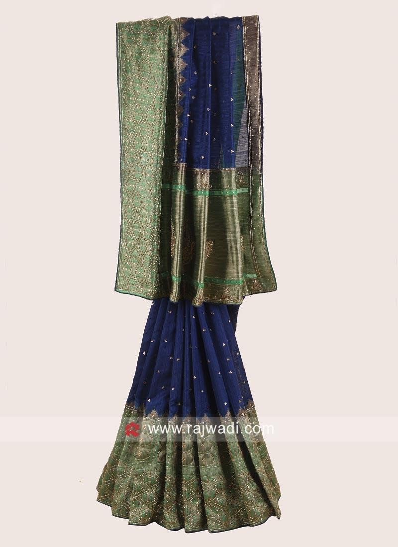 Exclusive Banarasi Silk Saree with Blouse