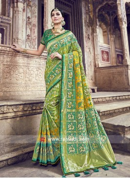 Exclusive Banarasi Silk Saree with Blouse
