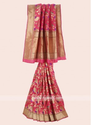 Exclusive Banarasi Silk Wedding Saree