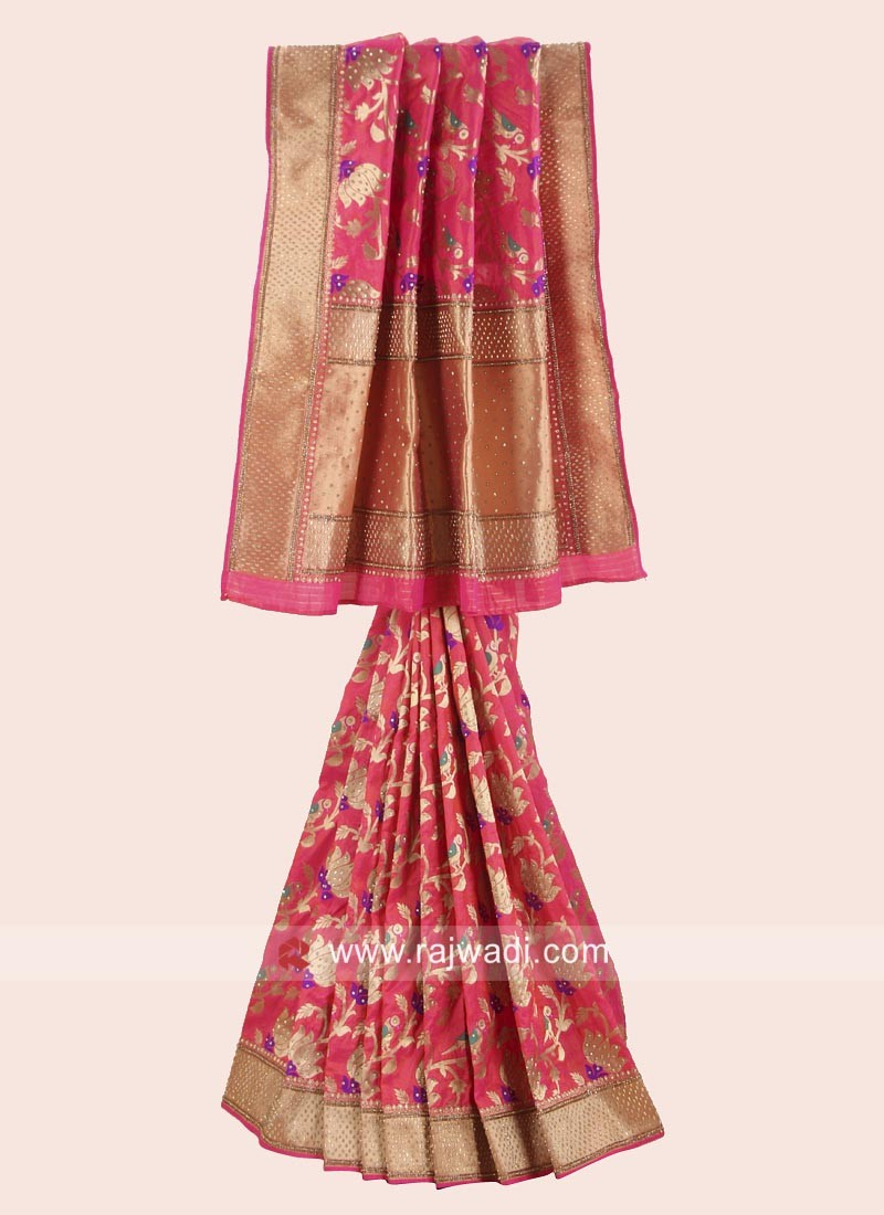 Exclusive Banarasi Silk Wedding Saree